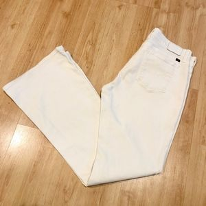 Lucky Brand Charlie Flare White Jeans NEW Size 29